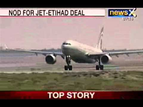 NewsX: India panel approves Etihad's Jet Airways stake deal