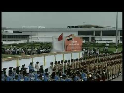 Chinese President Xi Jinping arrives at Ahmedabad Airport