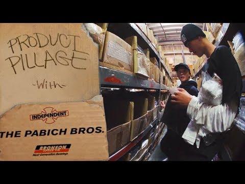 Product Pillage: Roman & Cedric Pabich | Independent Trucks