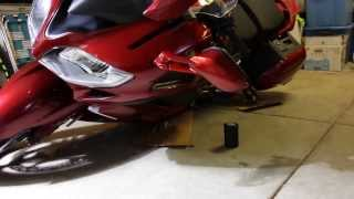 2014 FJR1300ES Canyon Cages Tip Test