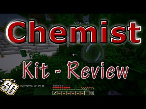 MCPVP.com   Review #28 CHEMIST Kit Review   Minecraft Hunger Games