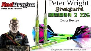Red Dragon Peter Wright Mamba 2 22g darts review