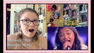 Februrary 2019 Reaction Month Day 9: Angelica Hale: Symphony