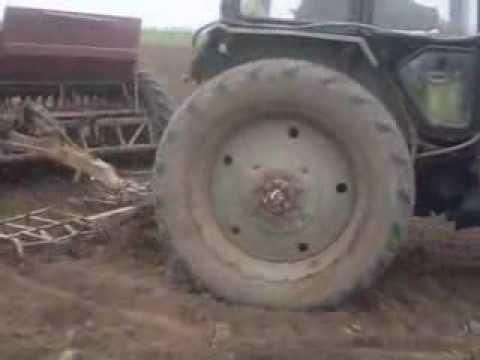 посев люцерны сзт-3,6 в украине seeding alfalfa in Ukraine