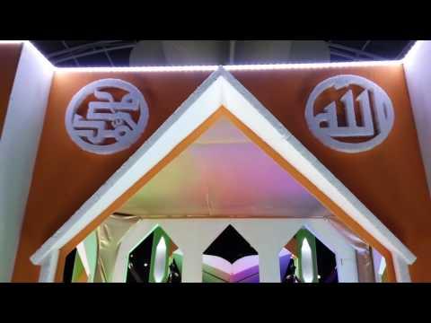 Mobil Hias Memperingati Malam Takbiran Idul Fitri 1437H (Sekretariat Daerah Kab. Maros)