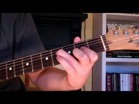 How To Play the Dmaj9 Chord On Guitar (D major ninth) 9th