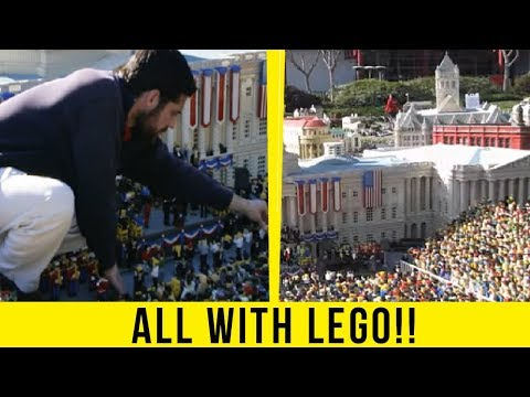 5 Most Humongous Things Ever Made With LEGOs!