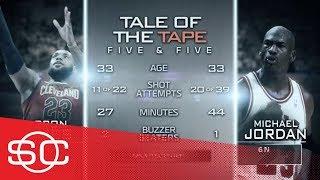 Keith Olbermann weighs in on the Michael Jordan-LeBron James debate | SportsCenter | ESPN