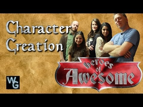 Dungeons and Dragons Character Creation - Heroes of Awesome
