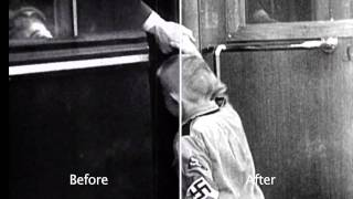 "The World at War ""Barbarossa"" - restored before & after clip 1"