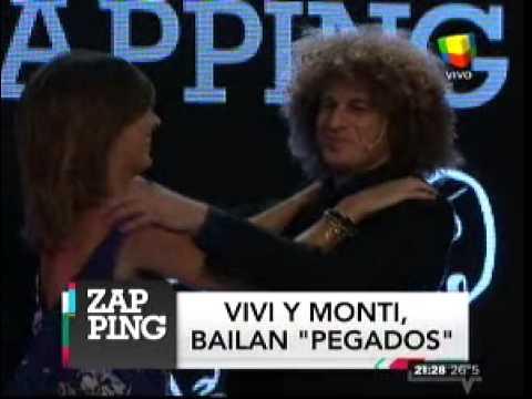 El día que Viviana Canosa bailó en vivo con Carlos Monti