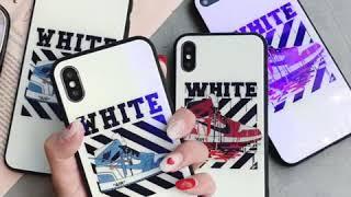 nikeナイキパロディiPhoneケース 超レアなナイキオフホワイトコラボiPhoneケース