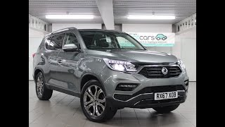 For Sale - RX67XOB - SSANGYONG REXTON ULTIMATE AUTO ESTATE GREY HEAVY OIL 2017