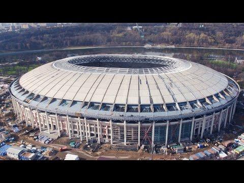 NEWSCOPTER -  Лужники (АПРЕЛЬ 2016) 4K