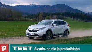 Honda CR-V Hybrid AWD - SUV TEST - GARÁŽ.TV