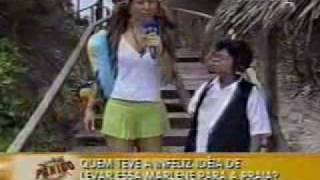Pânico Na TV - Sabrina Sato Na Praia De Nudismo !!