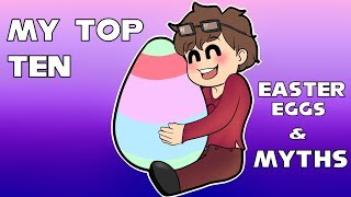 My Top Ten (Within Limits) Easter Eggs and Myths in Gaming
