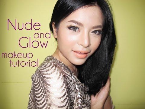 Nude and Glow makeup tutorial