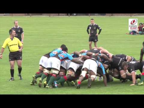 Republic of Fiji Military Force vs New Zealand Defence Force IDRC Pool C R3 Highlights 15-10-15