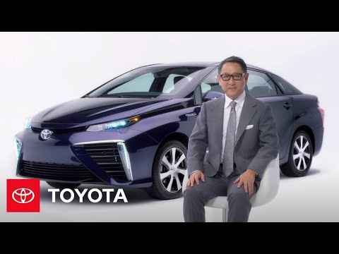 Introducing Toyota's New Fuel Cell Vehicle   Mirai   Toyota