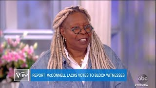 McConnell Lacks Votes to Block Witnesses, Report Says | The View