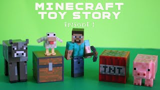 Minecraft Toy Story - Episode 1