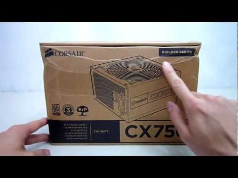 Corsair CX750 v3 power supply unboxing & review - Maximum PCs Australia
