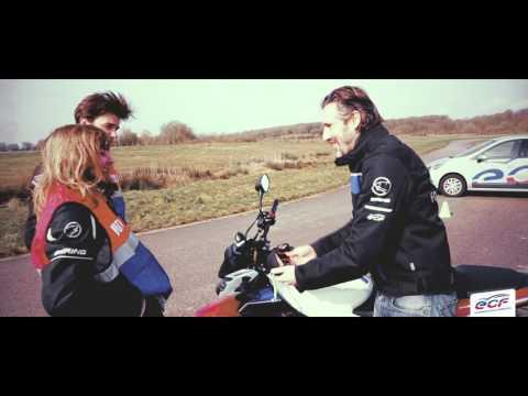 Le permis Moto avec ECF