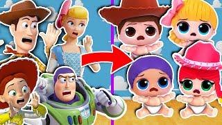 🤠 WOODY y sus AMIGOS vuelven a ser BEBÉS! 🍼 ¿Quién cambiará el Pañal? 👶🏻 Toy Story 4