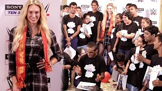 WWE Superstar Charlotte Flair Celebrates Children Day In India With KIDS