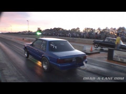 Foxbody vs Nova Grudge Race