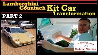 Lamborghini Countach Kit Car Transformation -EP2