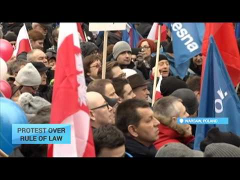 Protest Over Rule of Law: Thousands take to streets in Poland in support of Constitutional Court