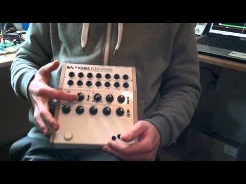 NAMM 2013: KOMA Elektronik announces the RH-301 Rhythm and Utility Pedal!