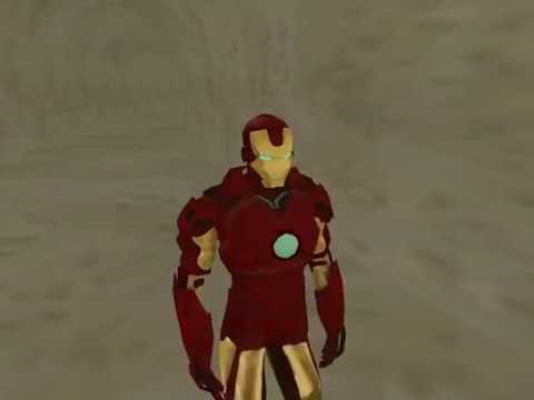 GTA San andreas Iron man Peds