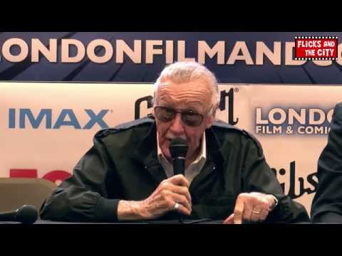 Stan Lee Interview - London Film and Comic Con 2014