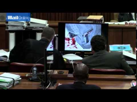 Police takes court through crime scene photos in Pistorius trial