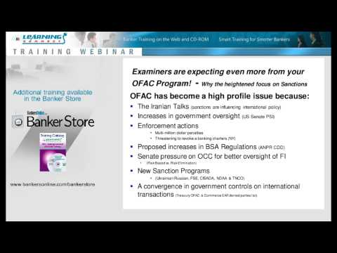 OFAC in 2014 Examiners are expecting even more!
