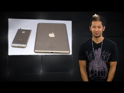 All-gold everything! Get ready for a gold iPad Air