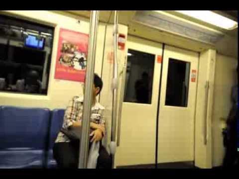 Bangkok subway Klongteoy -Kampangpech Bangkok 002.AVI