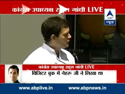 Rahul Gandhi takes on Modi Govt., says 'angry people' are running India