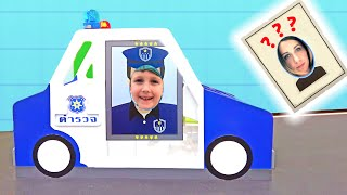Eli plays Police and other Professions - Collection video from Game Center