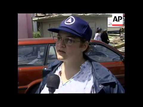 PUERTO RICO: LA PERLA: HURRICANE LUIS SITUATION UPDATE