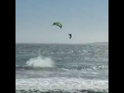 Lewis Crathern Crash - Red Bull King of the Air