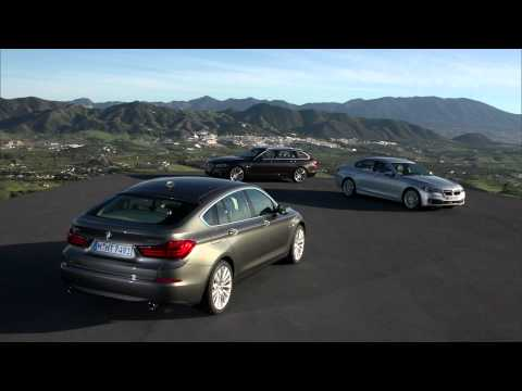 2014 BMW 5-Series facelift beauty footage - Sedan, Touring and Gran Turismo