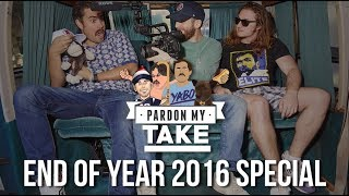 Pardon My Take 2017 Year In Review