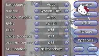 CFG USB Loader/Nintendont to play GC games