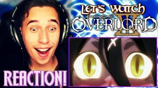 V FOR....VORACITY!!!| Overlord III Episode 1 REACTION & REVIEW!
