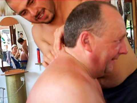 massage in turkish barbers