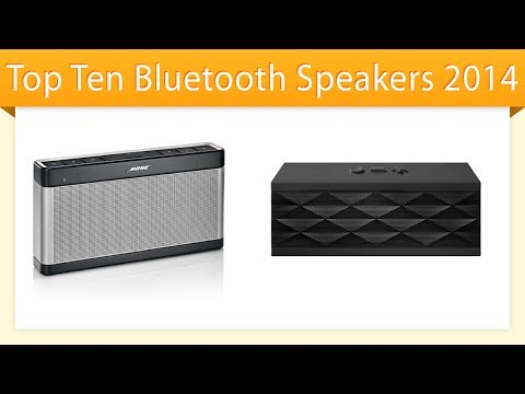 Top 10 Bluetooth Speakers 2014 | Compare Speakers Music Videos